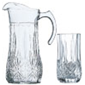 پارچ و لیوان برایتون لومینارکBrighton 7p drinkset
